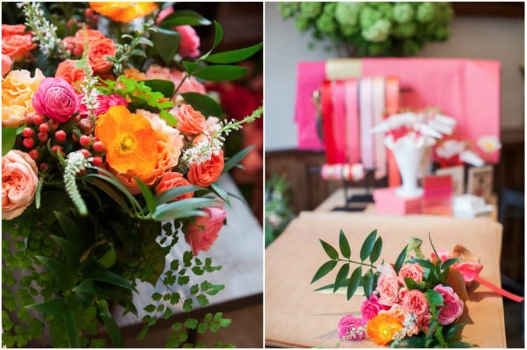 Sinclair & Moore Valentines Pop up Flower Shop 15