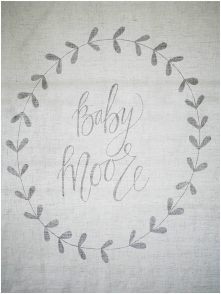 Sinclair & Moore baby announcement 8